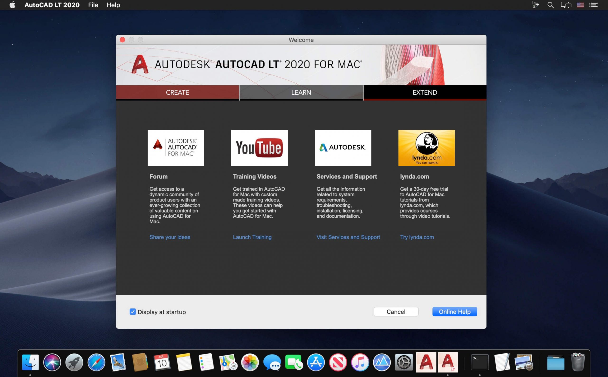 Autodesk AutoCAD (LT) 2020 For Mac OSX Latest Version Download