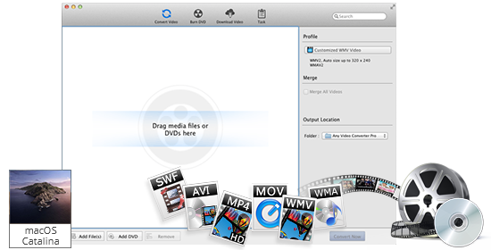 Any Video Converter Ultimate 6.3.8 for Mac Crack Download