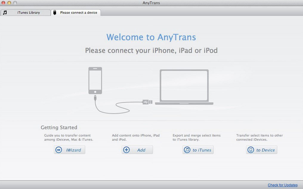 AnyTrans 8.5.0 Crack for Mac + License Code Free Download