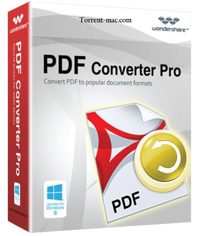 Wondershare PDF Converter Pro 4.1.0.3 Crack + Serial Key [Mac]