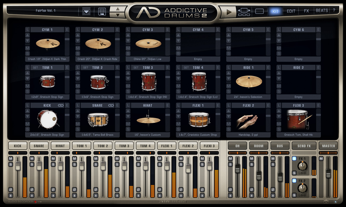 XLN Audio Addictive Drums 2 for Mac OSx Free Download