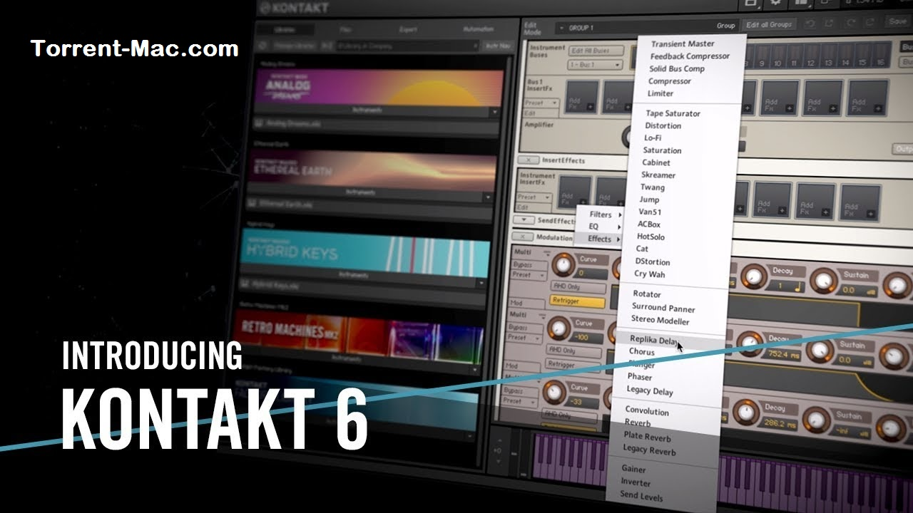 Kontakt 6.3.1 Crack Mac Full Free Download [Latest 2020]