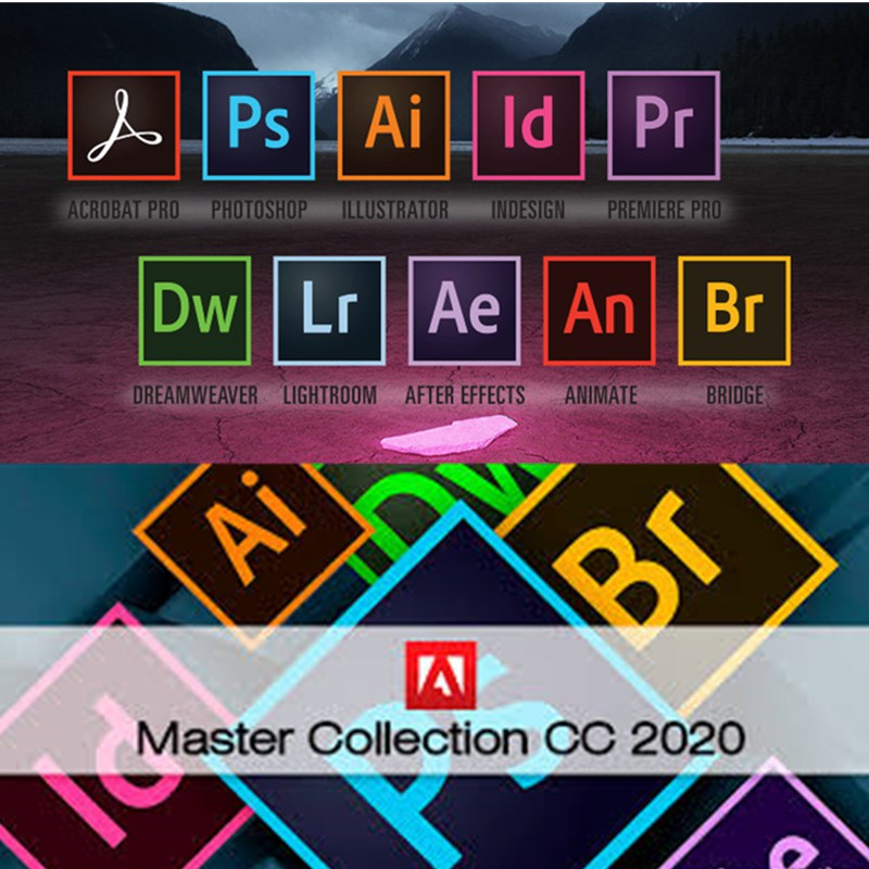 Adobe Master Collection CC 2020 for Mac Crack Latest Download
