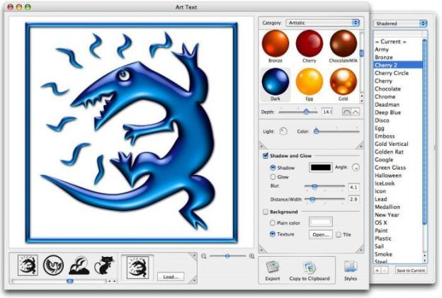 Art Text 4.0.3 Crack for Mac with License Key 2020 Latest Version
