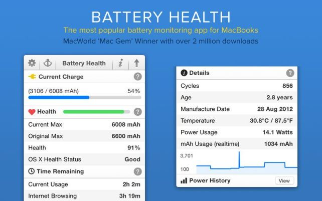 Battery Health 5.8 Crack for Mac OS Torrent Free Download