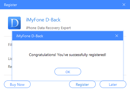 iMyFone D-Back 7.9.2 Crack Mac + Registration Code 2020