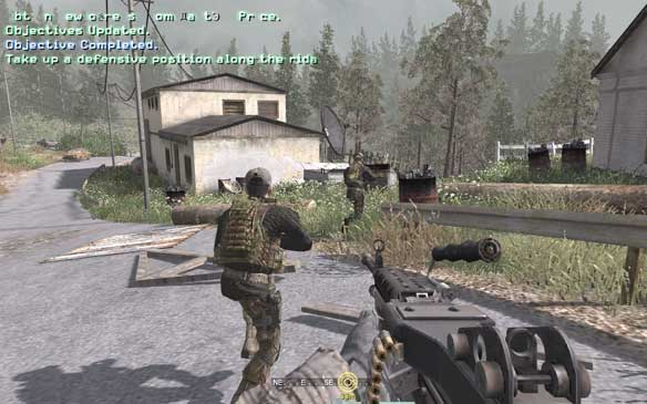 Call of Duty 4 Modern Warfare for Mac OS Game Free Download