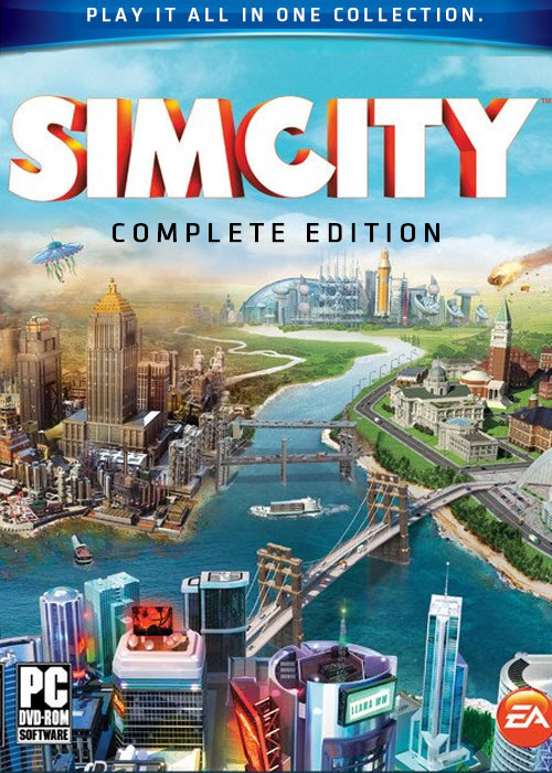 SimCity Complete Edition for Mac OS Game Torrent Download