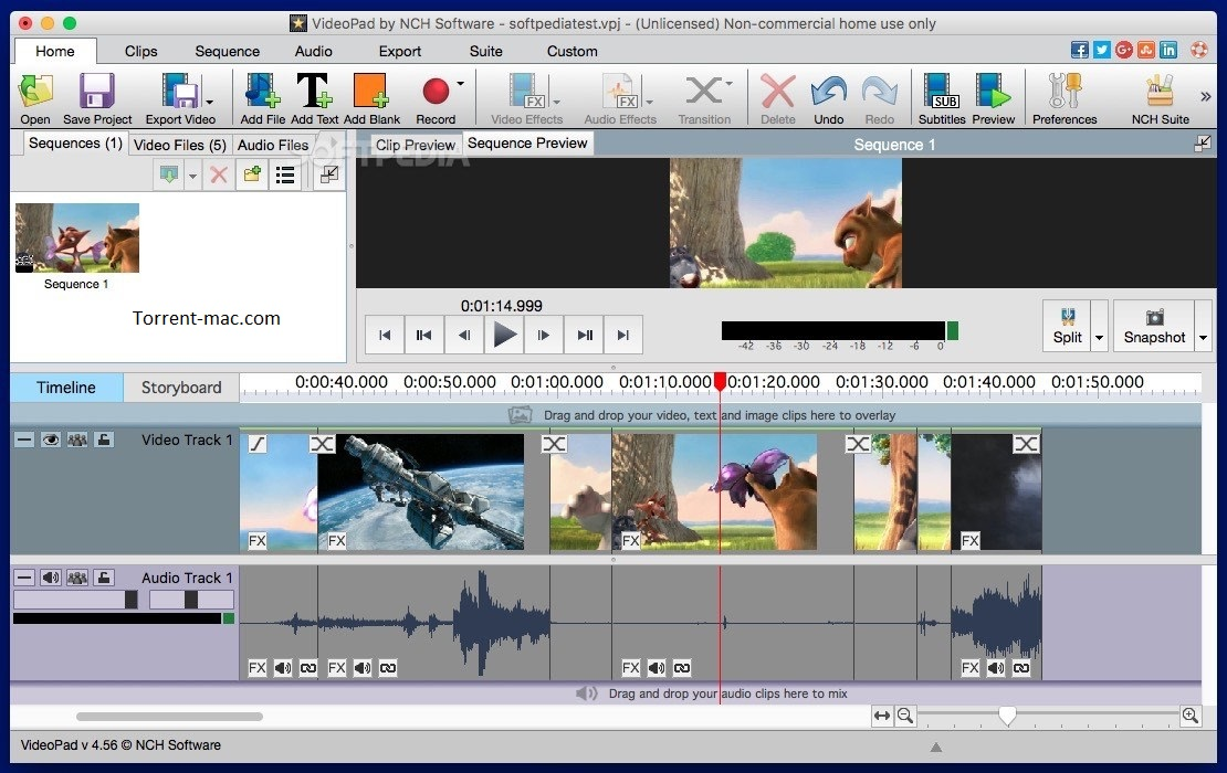 VideoPad Video Editor Activation