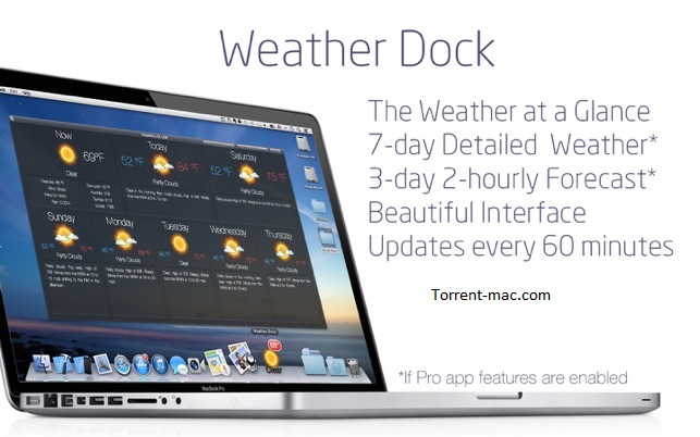 Weather Dock Crack Mac OS Download