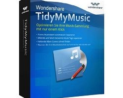 Wondershare TidyMyMusic v3.0.2.1 Crack Mac + Key Latest 2021